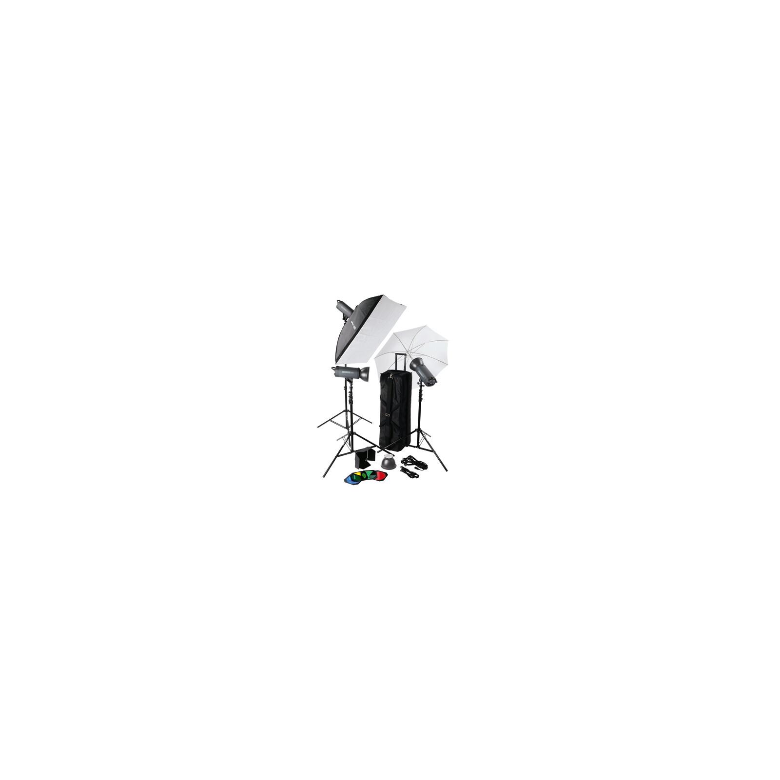 Helios 300P II Profi-Blitzstudio 3er-Set
