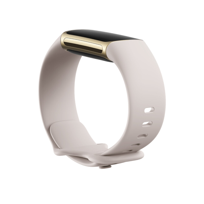 Fitbit Charge 5 Infinity Band Lunar White Large