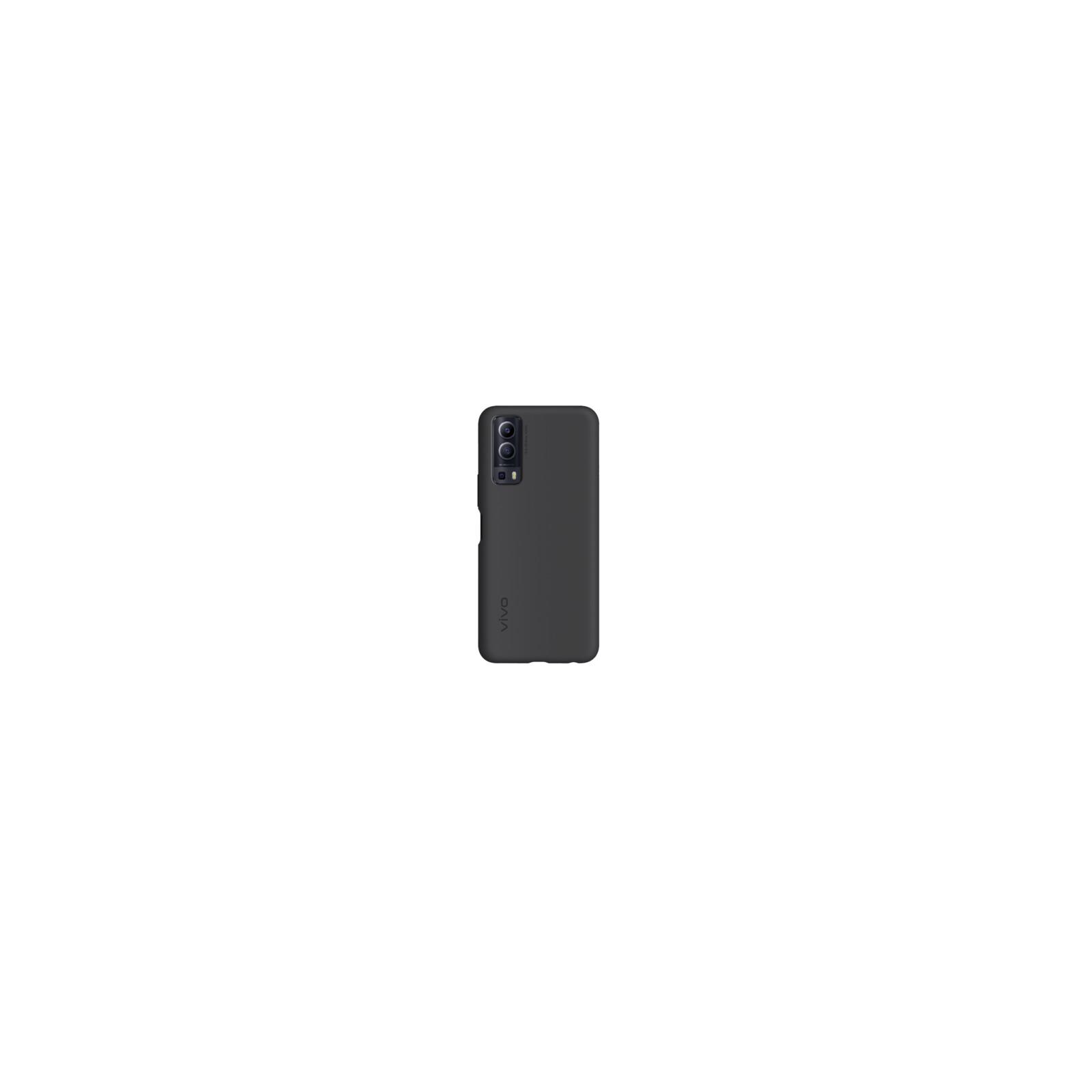 Vivo Y72 5G Silicone Cover schwarz