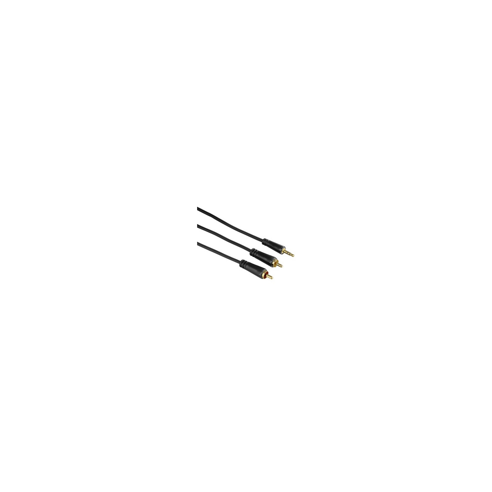 Hama 122301 Audio Kabel 3,5mm Klinken Stecker vergoldet 10m