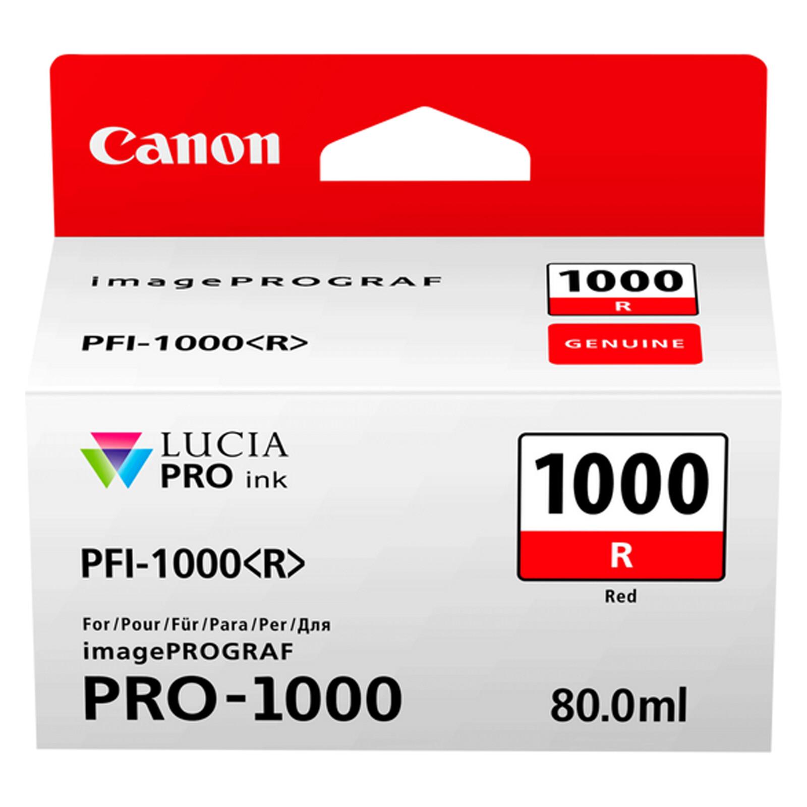 Canon PFI1000R red imagePrograf Pro 1000