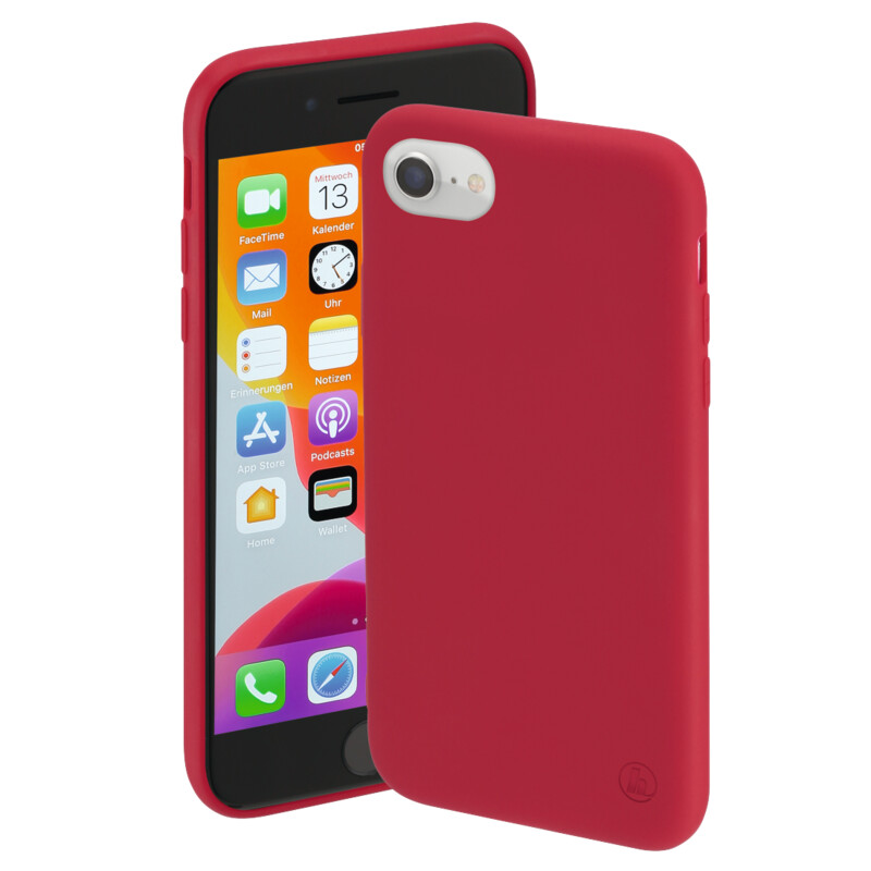 Hama Back Cover Apple iPhone 6/6s/7/8/SE 2020 rot