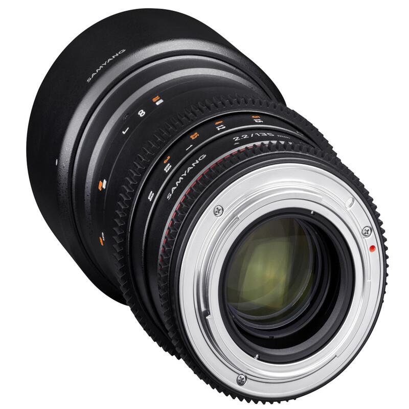 Samyang MF 135/2,2 Video DSLR Nikon F