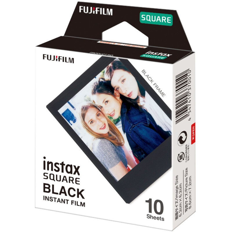 Fujifilm Instax Square Black Frame WW1 + Aufbewahrungsbox