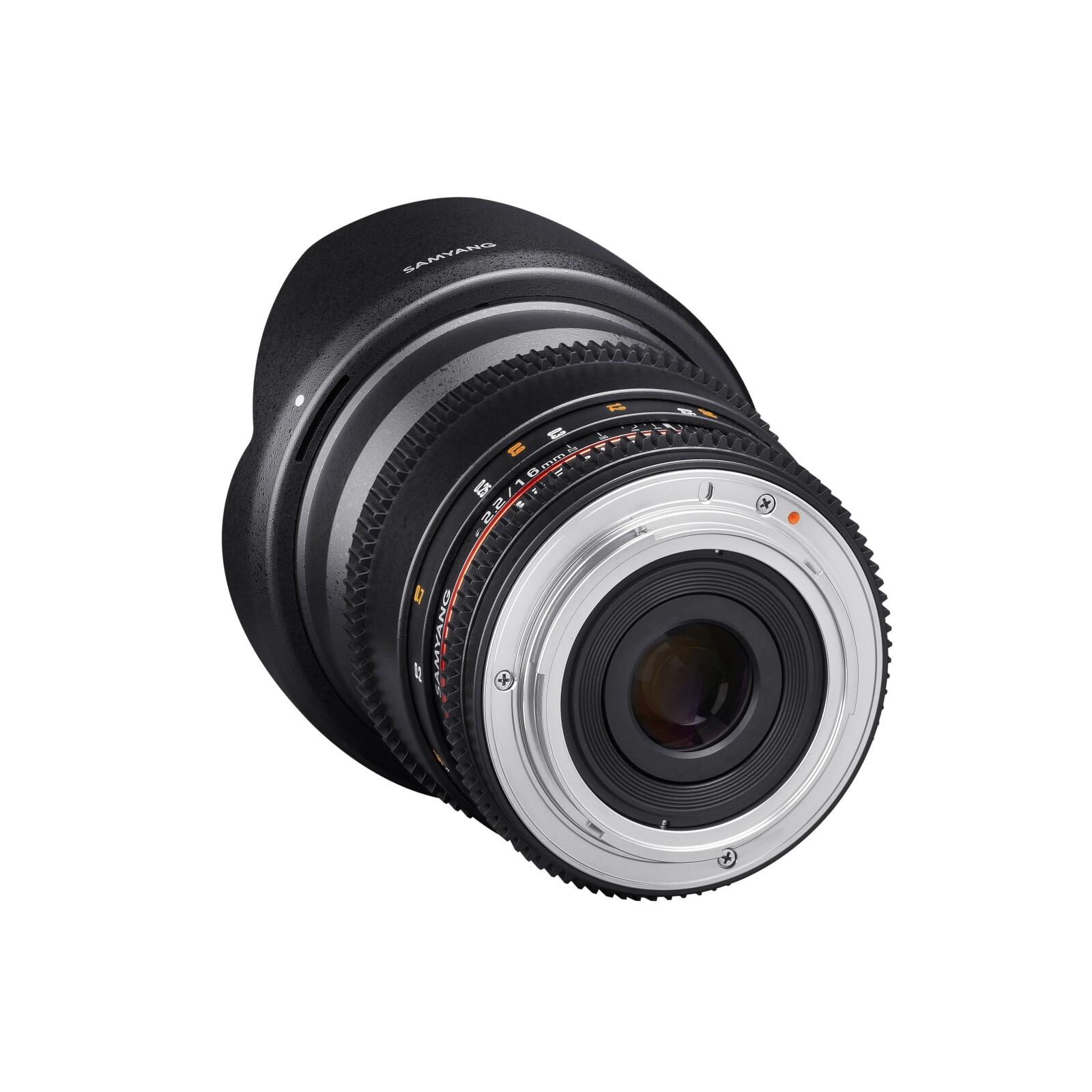 Samyang MF 16/2,2 Video APS-C II Sony A