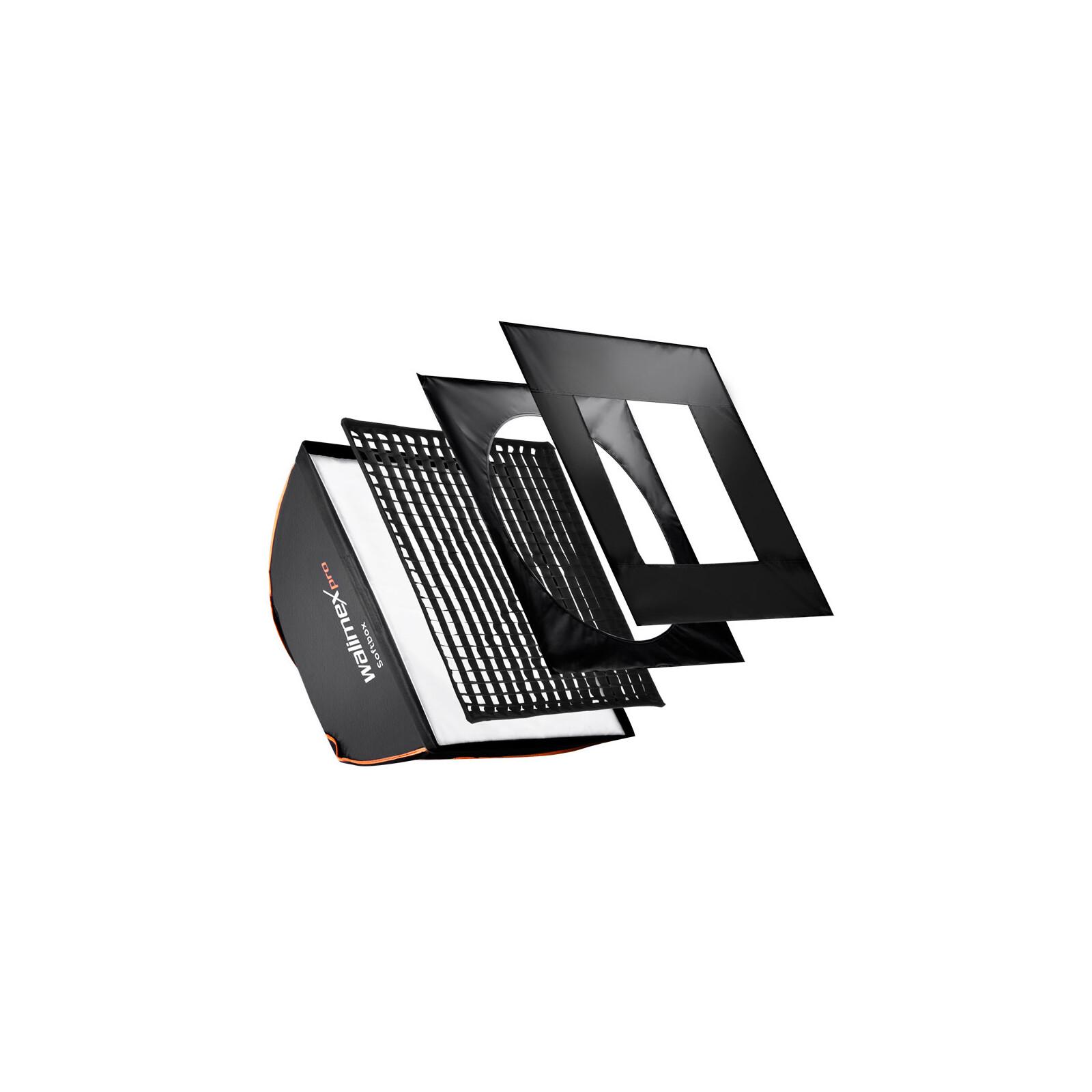 walimex pro Softbox PLUS OL 40x40cm + Uni. Adapter