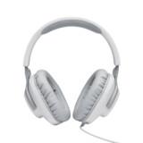 JBL Quantum 100 Over-Ear-Gaming-Headset weiß