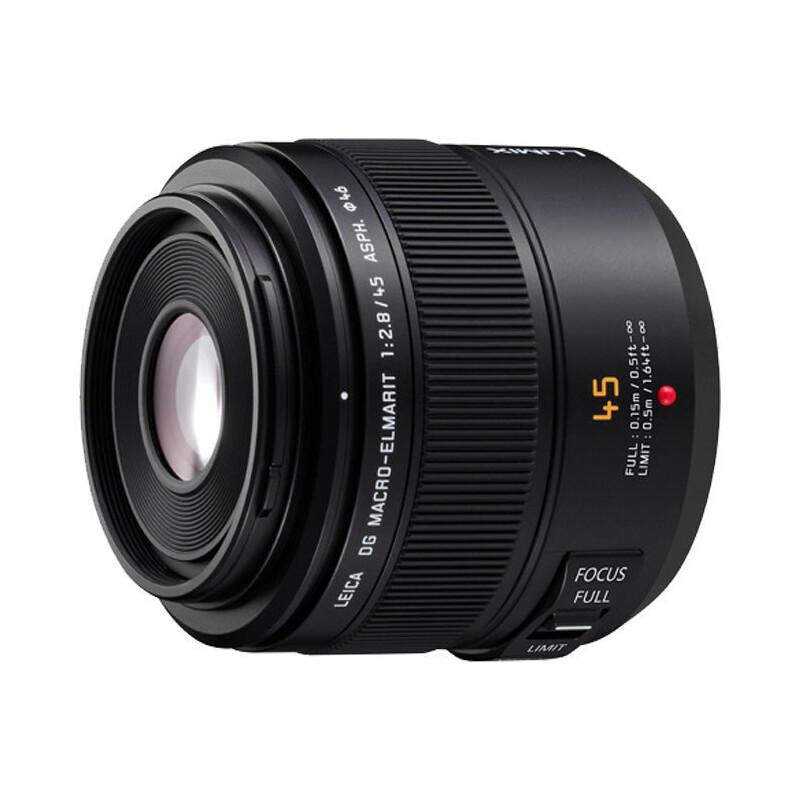 Panasonic 45/2,8 OIS Leica DG Makro Elmarit + UV Filter
