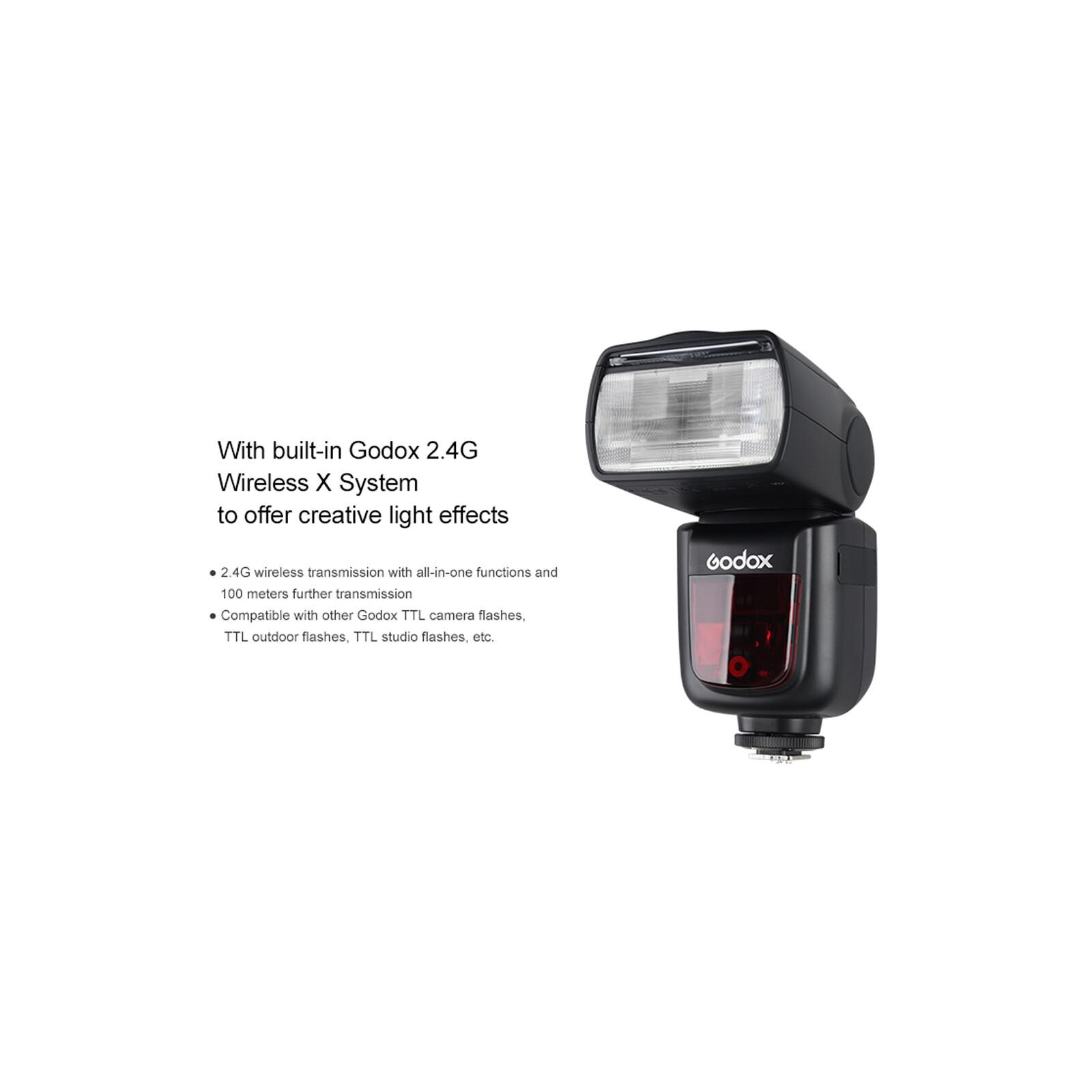 GODOX V860IIF Blitz Kit Fuji + Godox Softbox Univ.