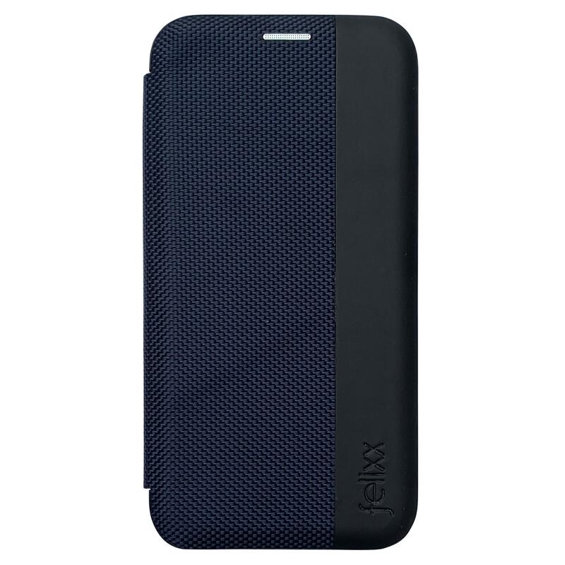 Felixx Book Tasche Lyon Apple iPhone XR Blau