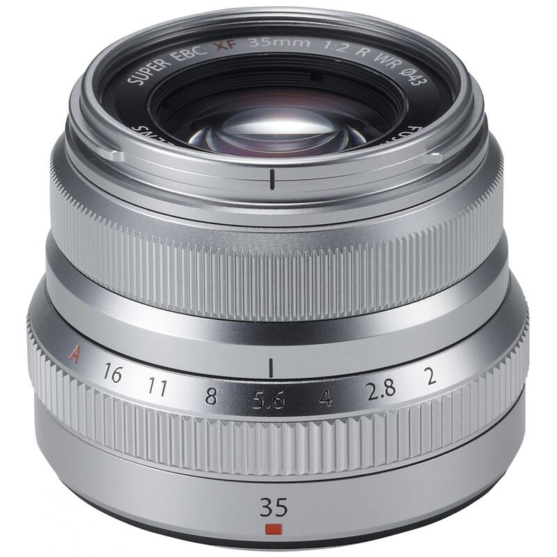 Fujinon XF 35/2,0R WR Silber + UV Filter