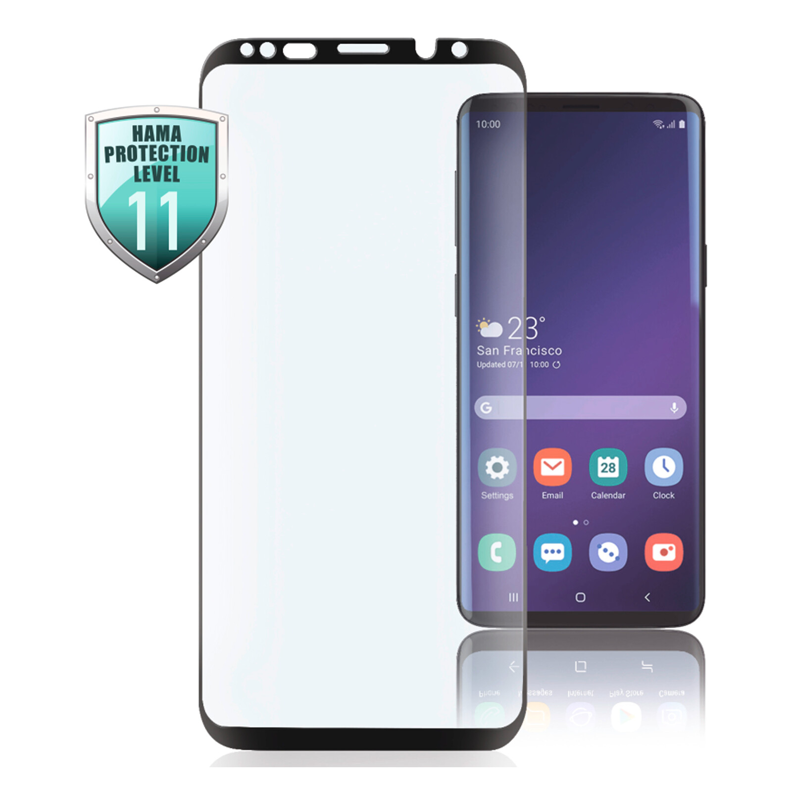 Hama 3D Full Screen Displayschutzglas Samsung Galaxy S10