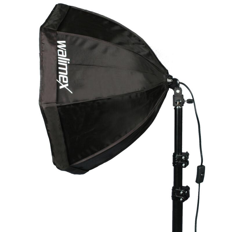 Walimex Daylight-Set 250+Octagon Softbox  55cm