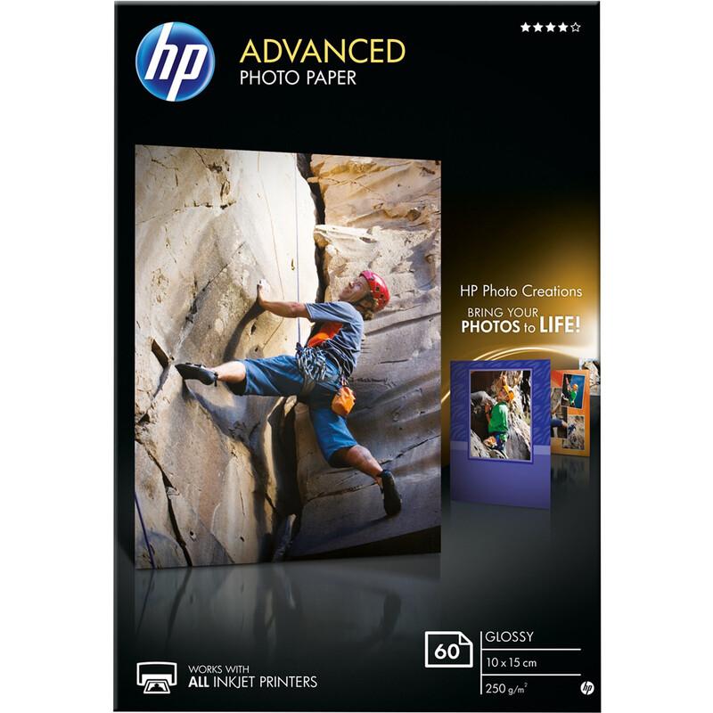 HP Q8008A 10x15 glossy 60 Blatt 250g