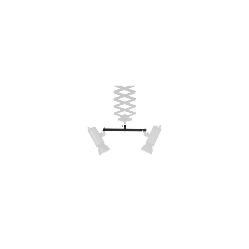 walimex Doppel-Haltearm für Deckenschienensystem