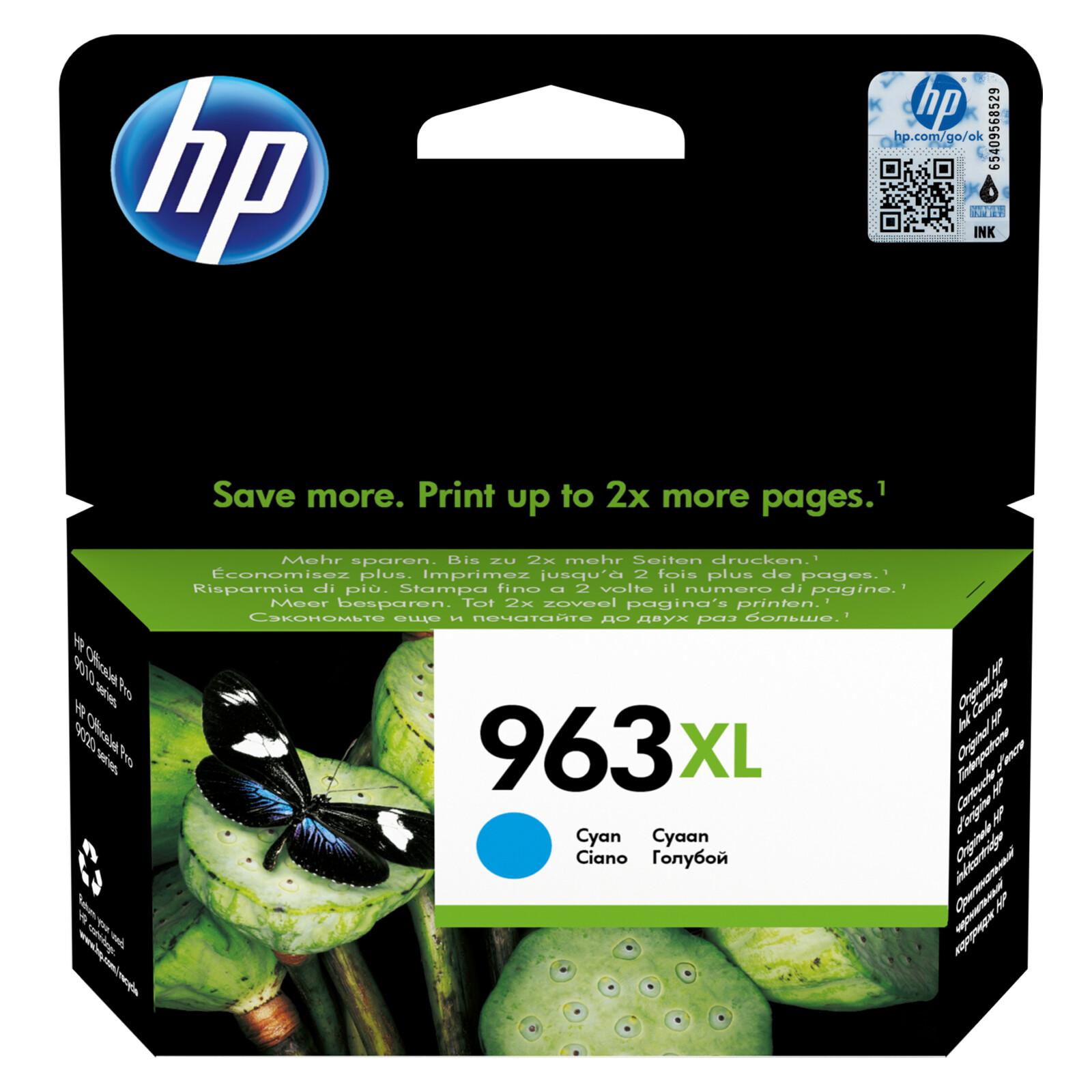 HP 963XL Tinte cyan
