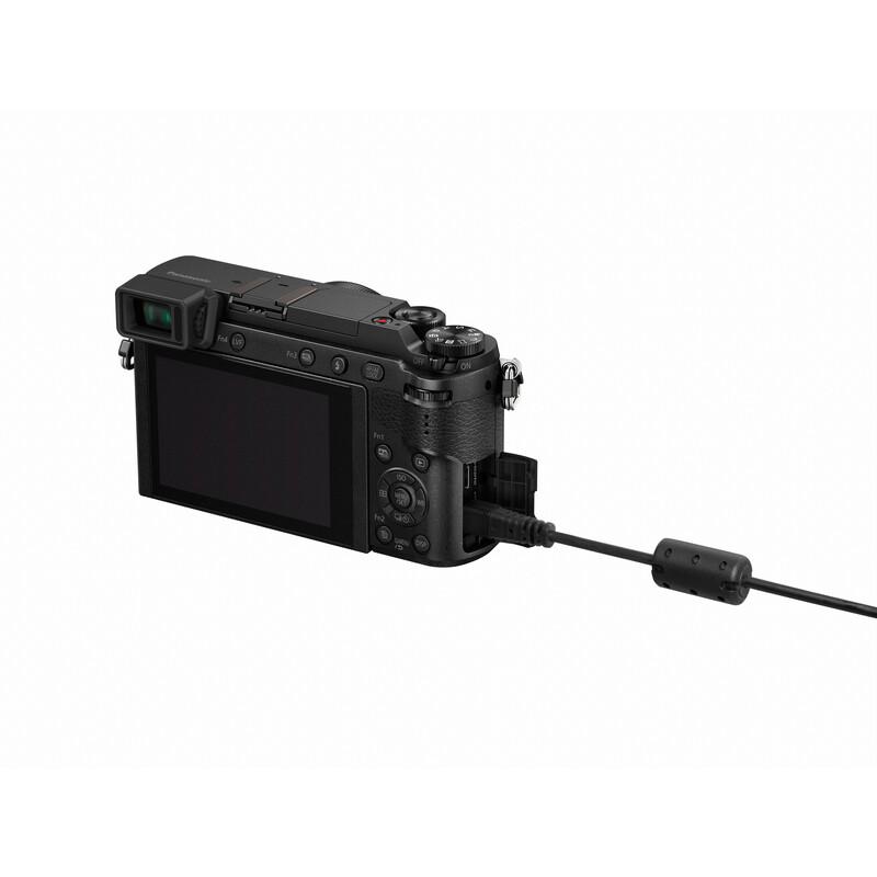 Panasonic DMC-GX80HEG-K + 14-140/3,5-5,6 OIS Schwarz