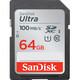 San SDXC 64GB Ultra 100MB/s UHS-I Doppelpack