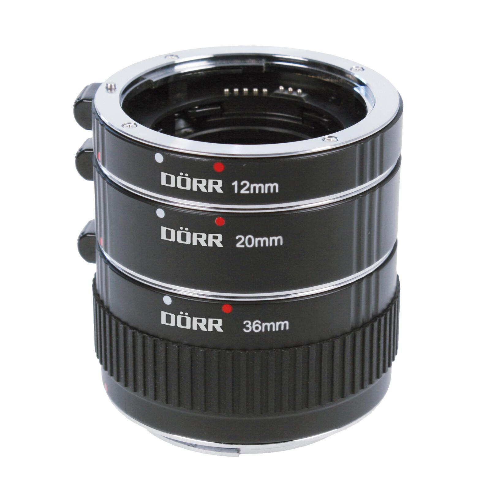 Dörr Zwischenringsatz Nikon AF 12/20/36mm