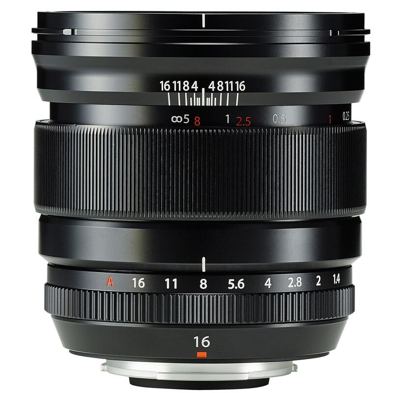 Fujinon XF 16/1,4R WR + UV Filter