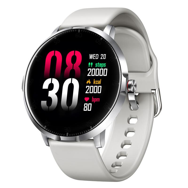 IOMI Bluetooth Smartwatch silber/grau