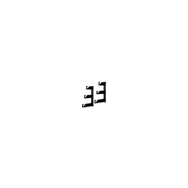 walimex 3-fach Hintergrundhaken, 2er Set
