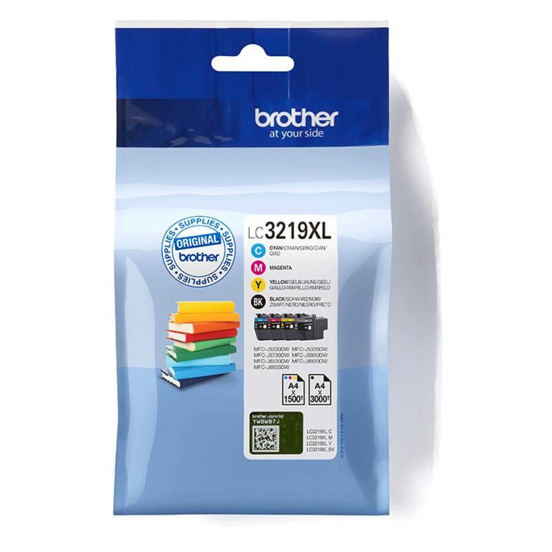 Brother LC3219XLVALDR Tinte BK/C/M/Y