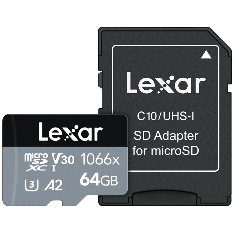Lexar mSDXC 64GB High Performance 160MB/s
