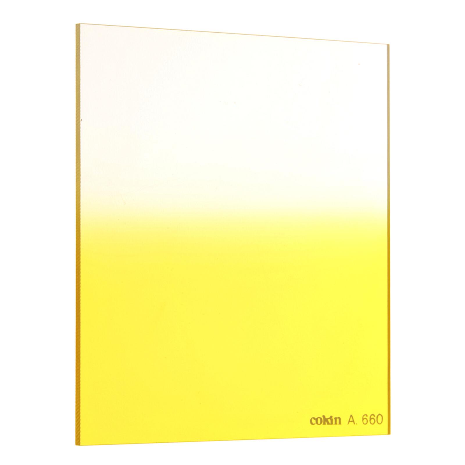 Cokin A660 Verlauf leuchtend Gelb 1