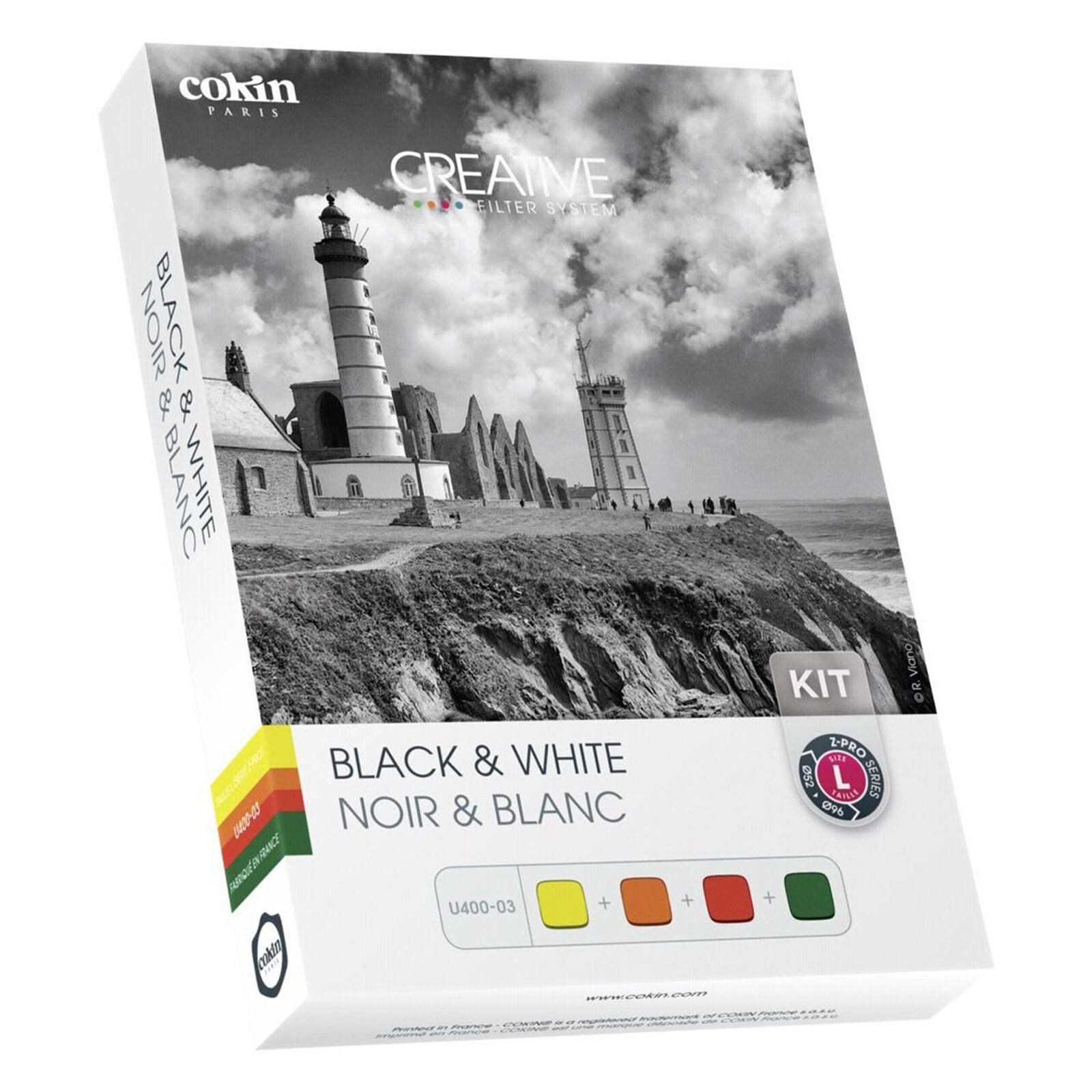 Cokin H400-03 Black & White Set P Serie