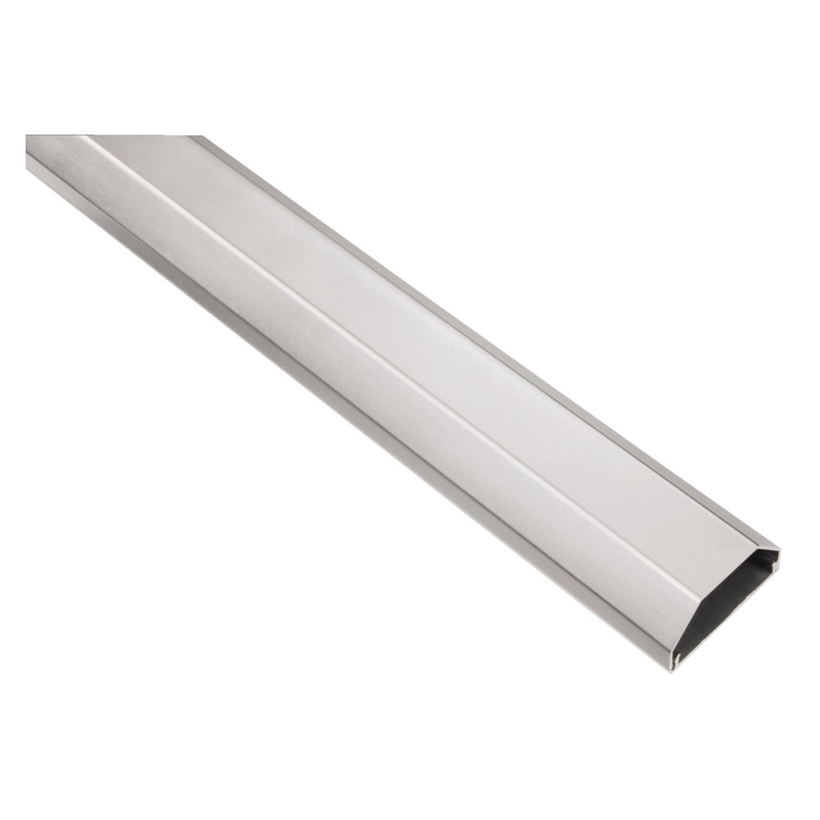 Hama 20644 Kabelkanal alu silber 110/5/2,6cm