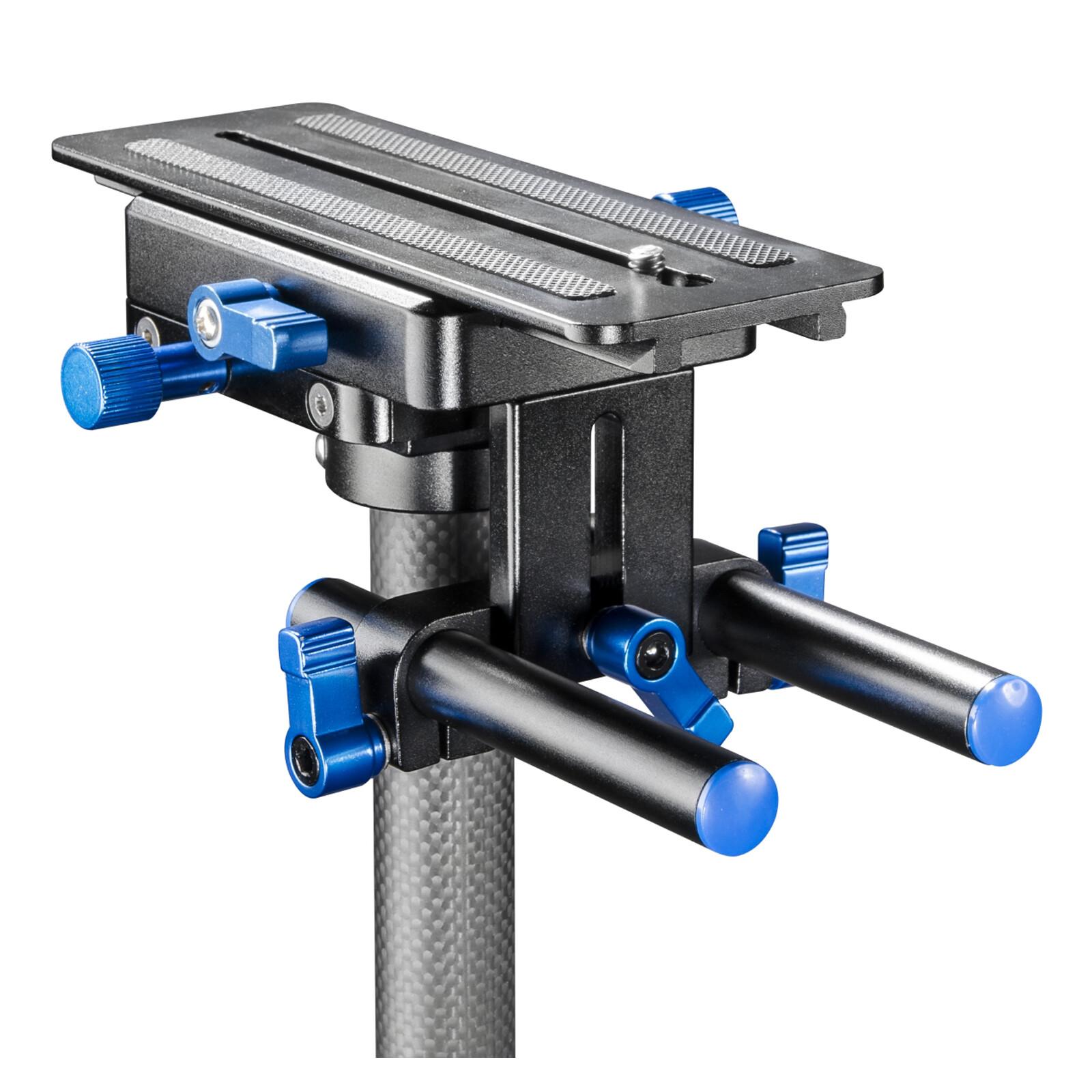 walimex pro Schwebestativ StabyPod Carbon 120cm