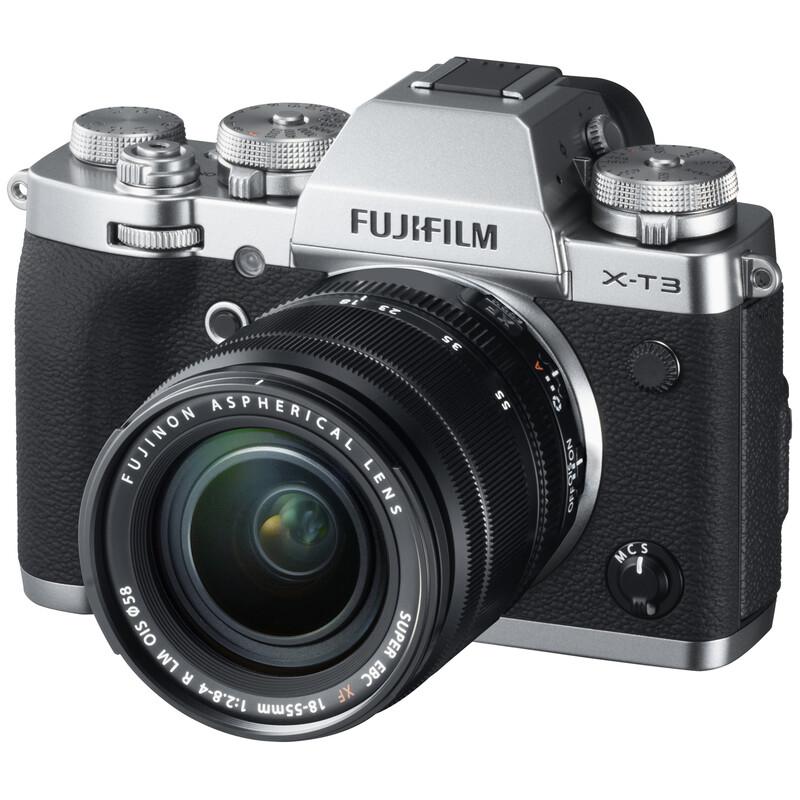 Fujifilm X-T3 + XF 18-55 + XF 55-200 OIS schwarz