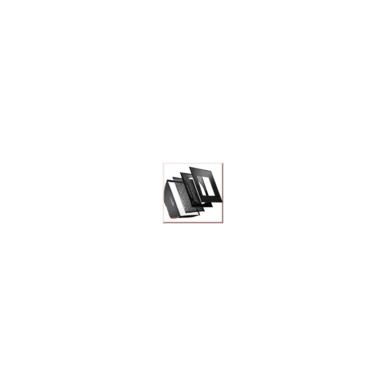 walimex pro Softbox PLUS OL 40x40cm Aurora/Bowens