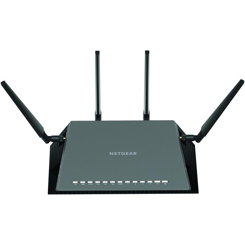 Netgear AC2600 Nighthawk Wave2 VDSL/ADSL Modem Router D7800