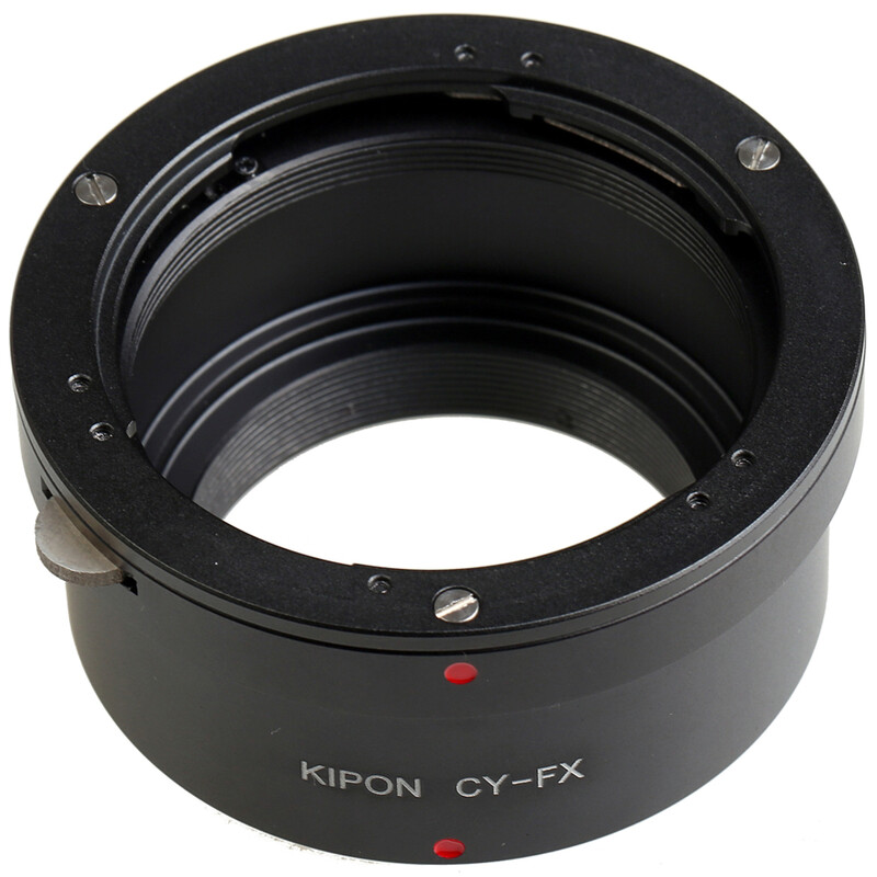 Kipon Adapter für Contax / Yashica auf Fuji X