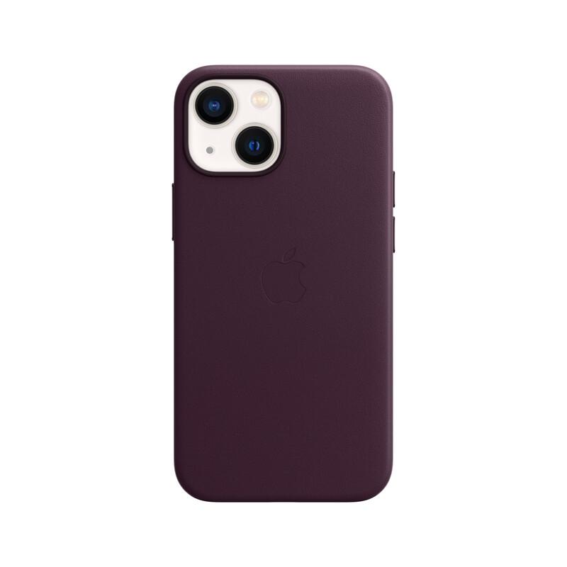 Apple iPhone 13 mini Leder Case mit MagSafe kirschrot