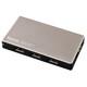 Hama 54544 USB-3.0-Hub 1:4 für Ultrabooks, mit Netzteil