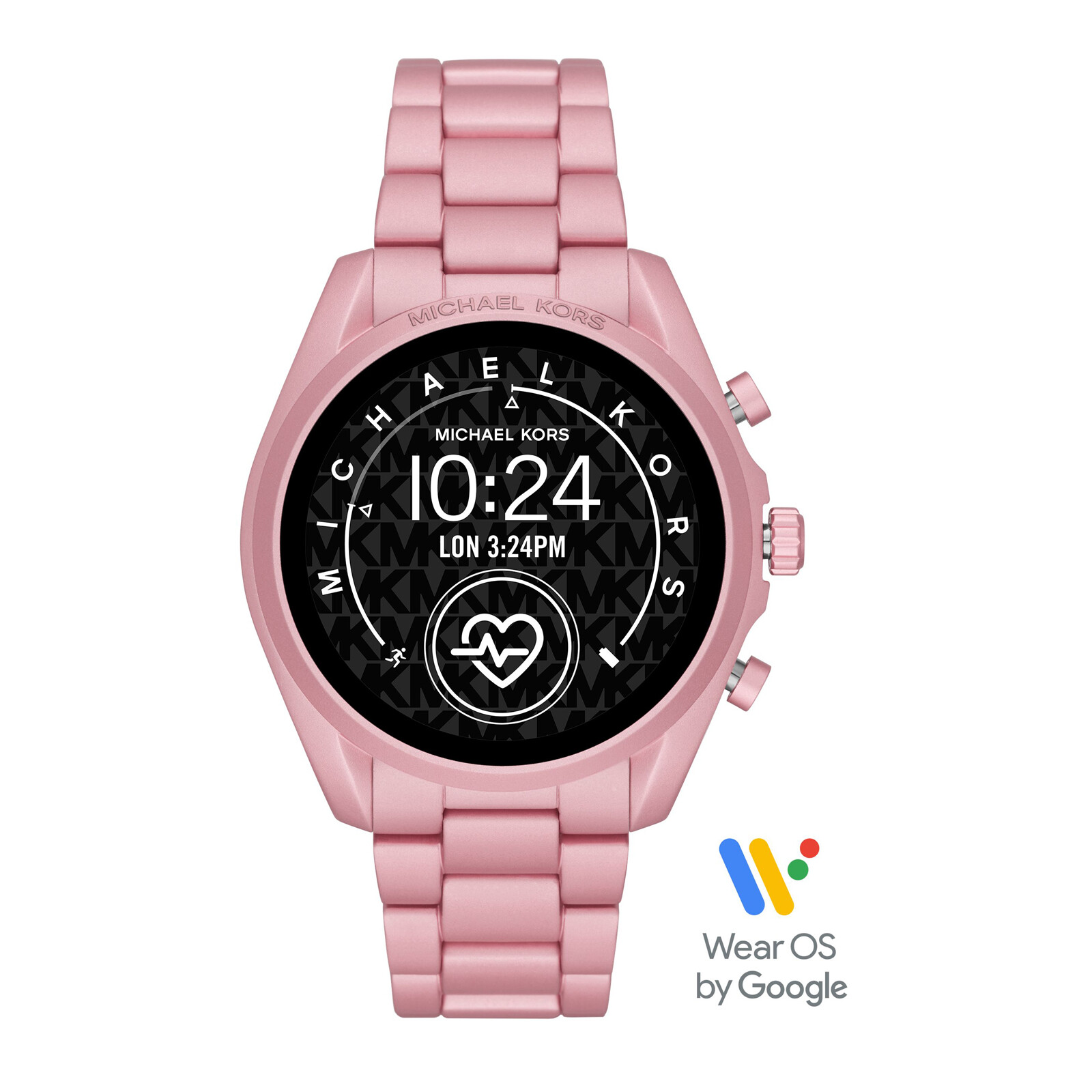Michael Kors Smartwatch Bradshaw 2 hellrosa