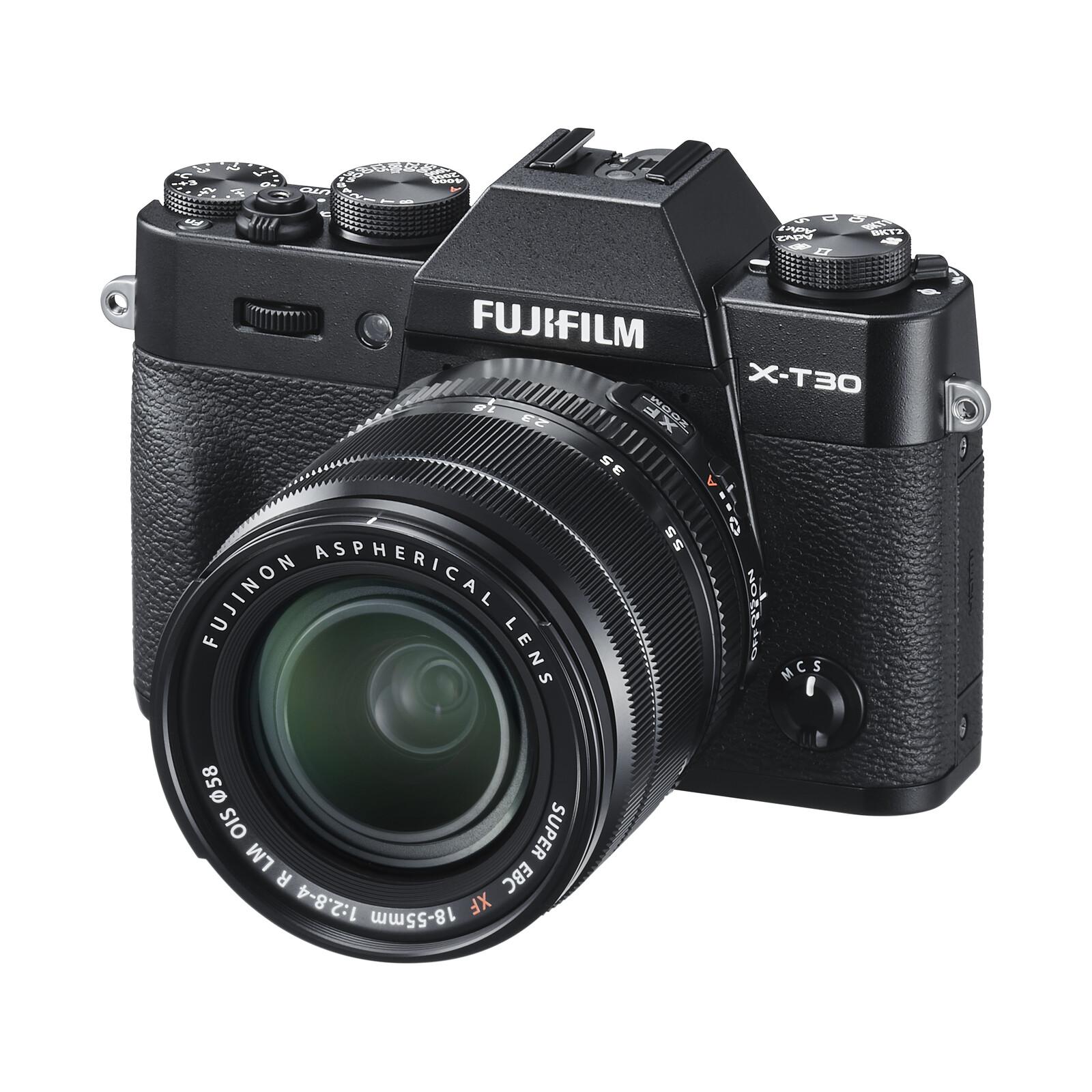 Fujifilm X-T30 + XF 18-55/2,8-4,0 R LM OIS Schwarz