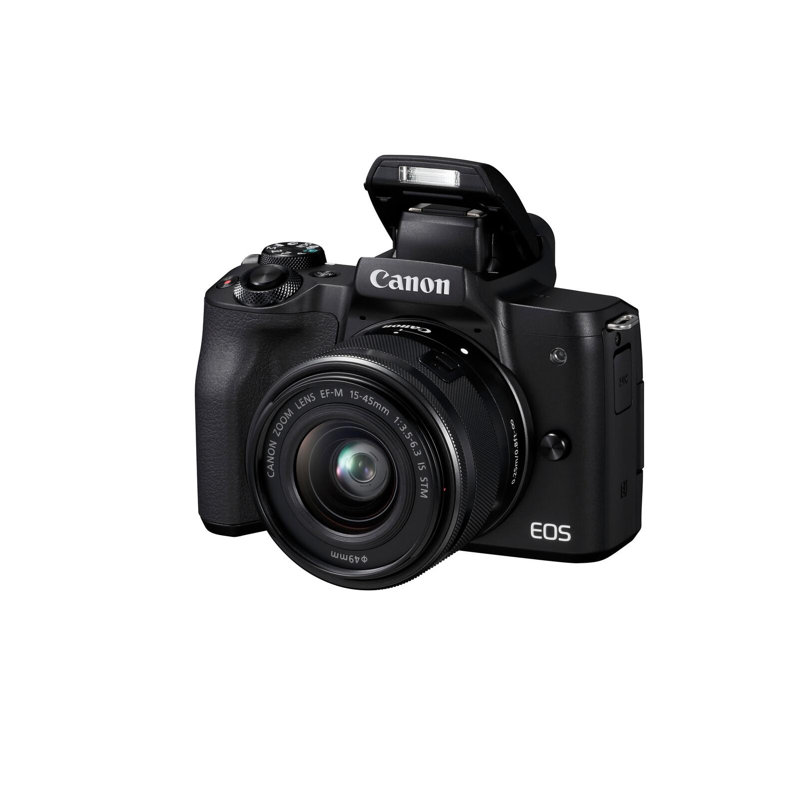 Canon PARS SIP EOS M50 + EF-M 15-45/3,5-6,3 IS +EF-M 22/2,0