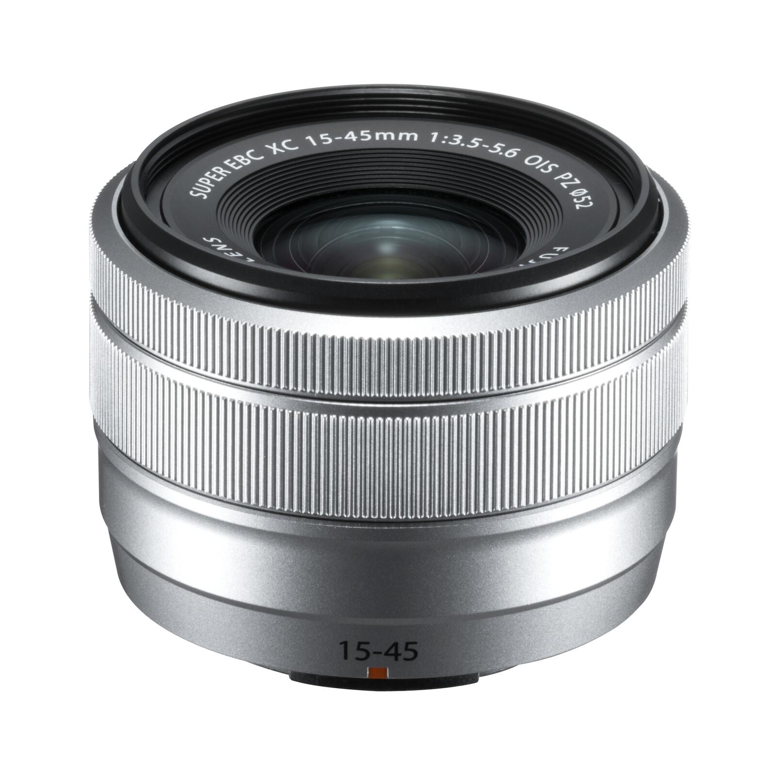 Fujinon XC 15-45/3,5-5,6 OIS PZ silber + UV Filter