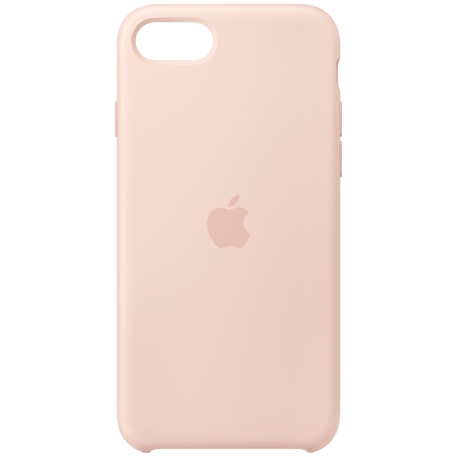 Apple Original Back Cover Silikon iPhone SE 2020 pink sand