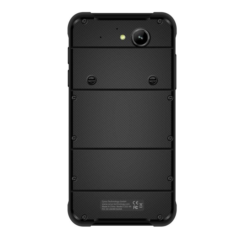 Cyrus CS22 XA black Outdoor Smartphone