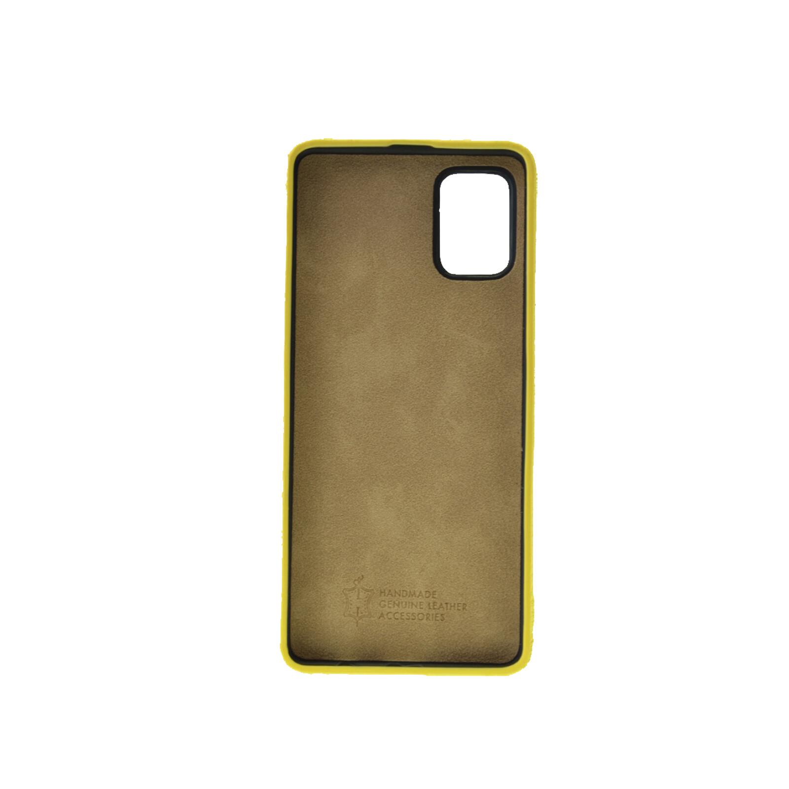 Galeli Backcover FINN Samsung Galaxy A41 light lemon