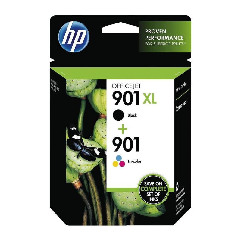 HP 901XL black + 901 color Kombipack