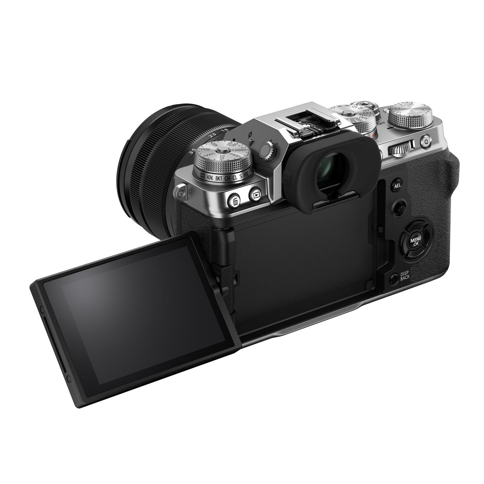 Fujifilm X-T4 silver + XF 16-80/4.0 R OIS WR
