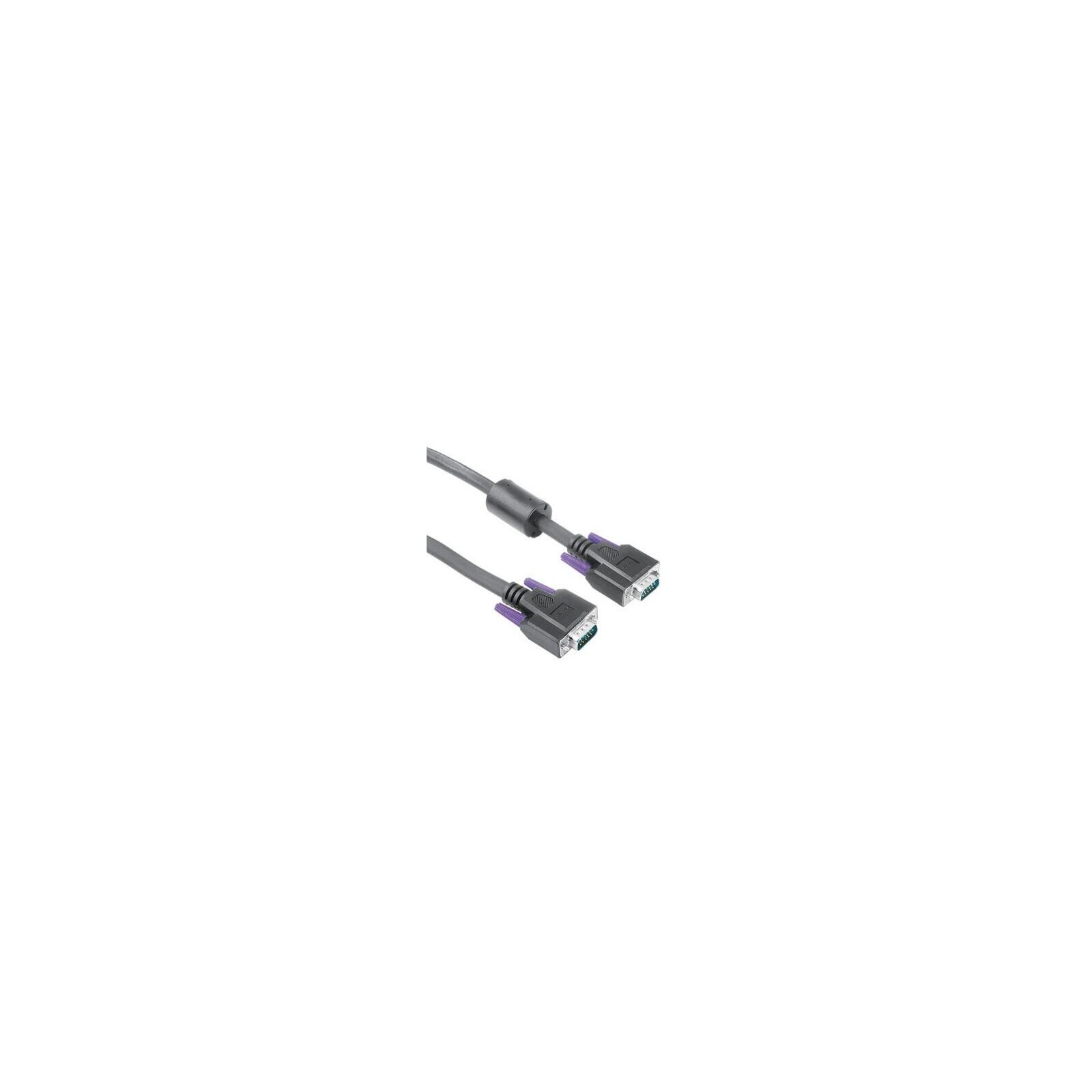 Hama 41933 VGA-Kabel, Ferritkern, doppelt geschirmt, 1,80 m