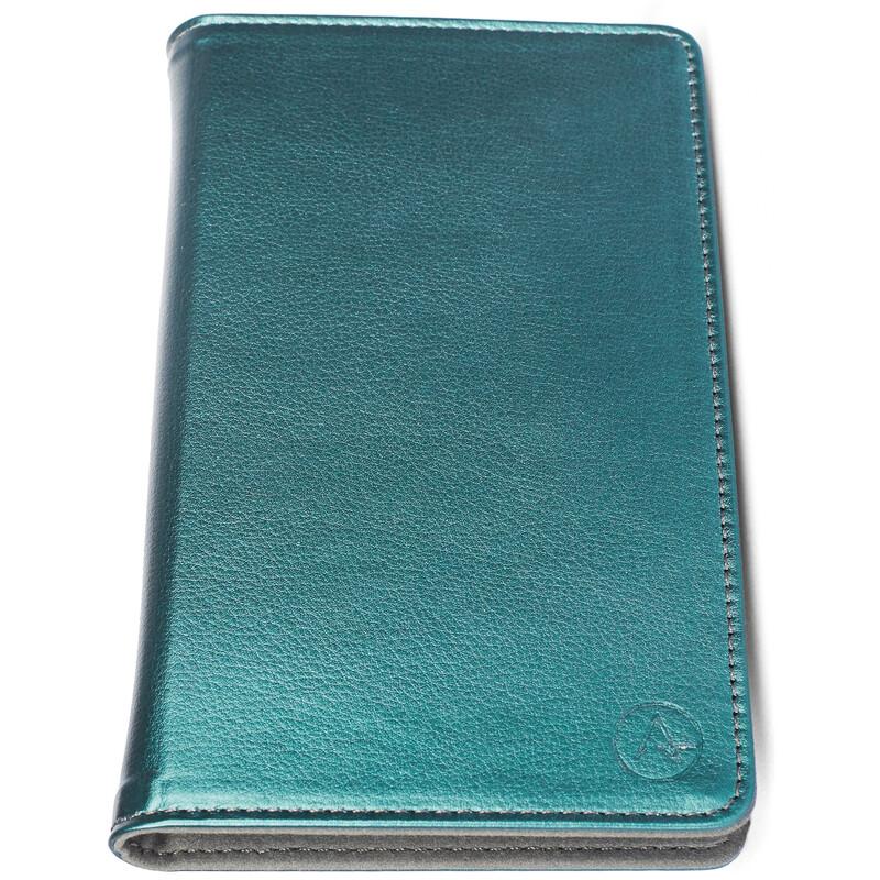 Axxtra Book Tasche Size M bis 128x65x12mm petrol