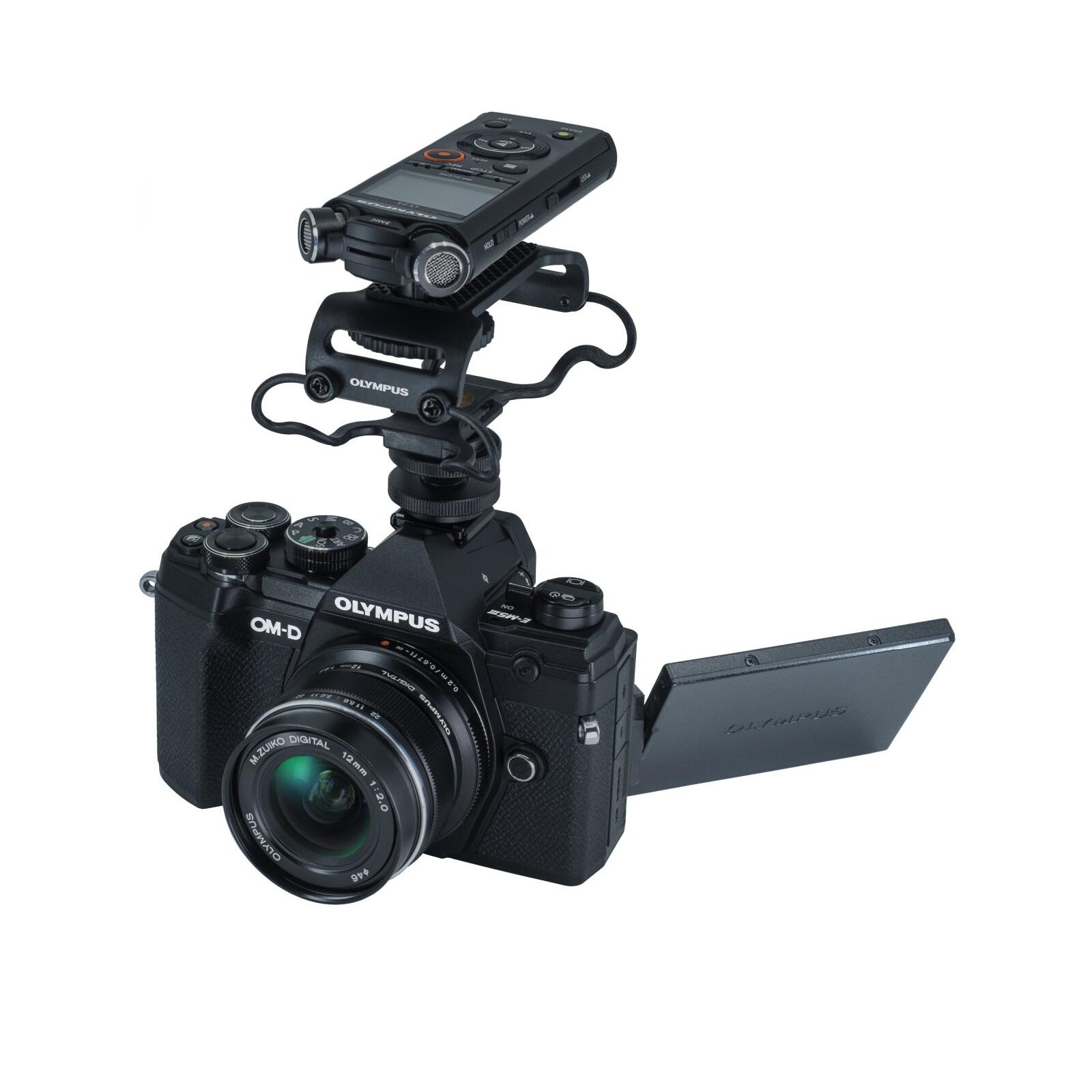 Olympus OM-D E-M5 Mark III + ED 12/2,0 Vlogger Kit schwarz